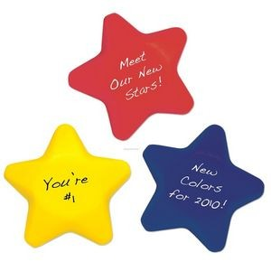 "2 1/2"" Star Shape Stress Ball"
