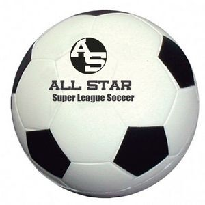 "2 1/2"" Soccer Shape Stress Ball"
