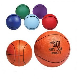 PU Basketball Hand Wrist Exercise Stress Foam Ball