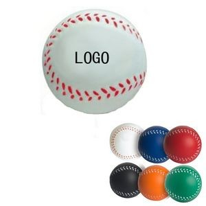 PU Baseball Hand Wrist Exercise Stress Foam Ball