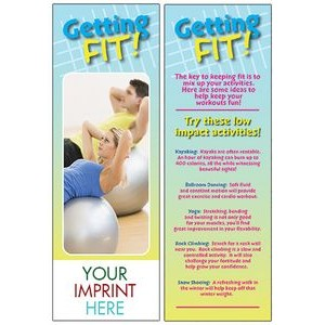 Getting Fit Bookmark