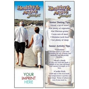 Healthy & Active Seniors Bookmark