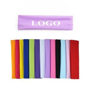Elastic Sweat & Sports Headbands