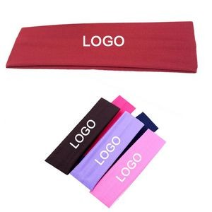 Cotton Stretch Headbands for Yoga