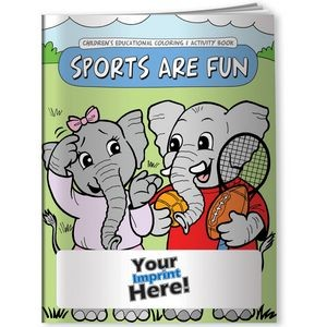 Coloring Book - Sports are Fun