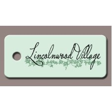 "Rectangle Key Tag (1 1/8""x2 1/8"")"