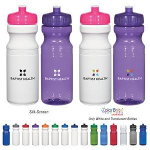 24 Oz. Poly-Clear™ Fitness Bottle