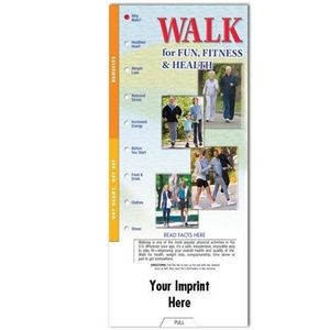 Walk For Fun, Fitness And Health Slideguide - Personalization Available
