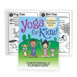 Yoga For Kids! Educational Activities Book - Personalization Available