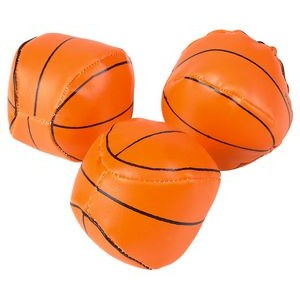 Soft Stuffed Basketball Stress Reliever