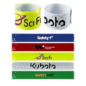 Reflective Slap Wristband (Direct Import - 10 Weeks Ocean)