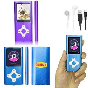 iBank(R) MP3/MP4 Video Music Player with 4G Memory / Voice Recorder (Purple)