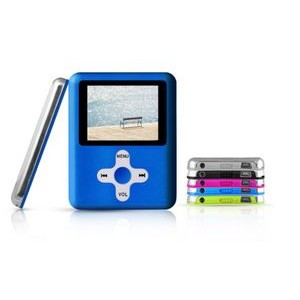 iBank(R)MP3/MP4 Video Music Player with 8G Memory / Voice Recorder (Blue)