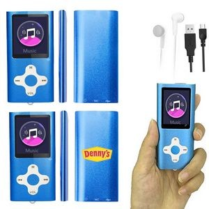 iBank(R) MP3/MP4 Video Music Player with 8G Memory / Voice Recorder (Blue)