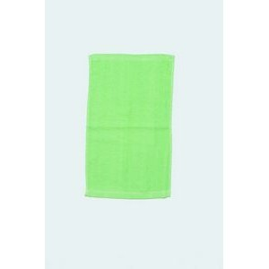 "Rally Towel (11"" x 18"") Lime Green (Blank)"