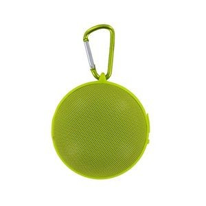 Hanging Bluetooth Speaker with Clip - Lime Green (Case of 8)