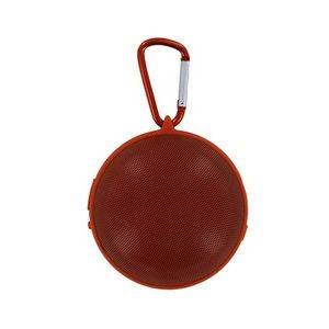 Hanging Bluetooth Speaker with Clip - Orange (Case of 8)