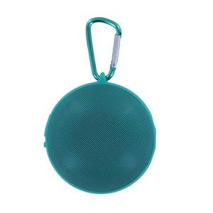 Hanging Bluetooth Speaker with Clip - Turquoise (Case of 8)