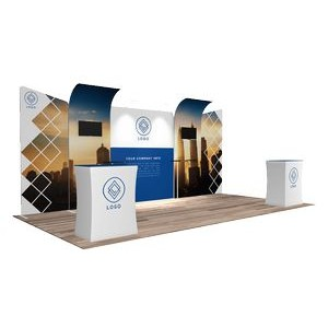 10'x20' Quick-N-Fit Booth - Package # 1211