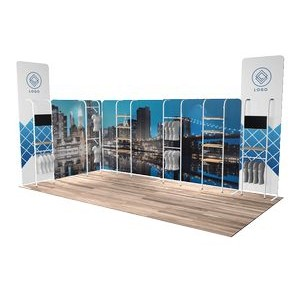10'x20' Quick-N-Fit Booth - Package # 1220