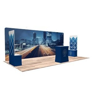 10'x20' Quick-N-Fit Booth - Package # 1219