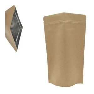 Stand-up Reusable Sealing Kraft Paper Bag with Zip Lock
